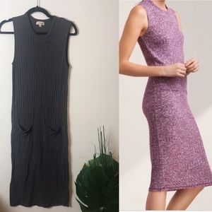 Wilfred free Sz small dark grey Fabiana dress